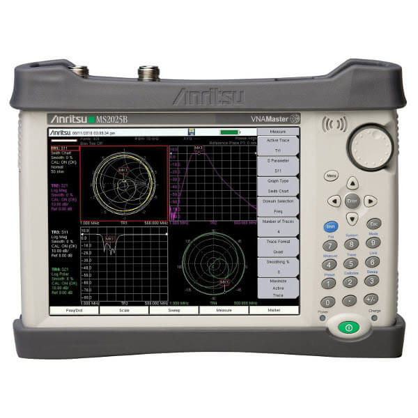 Network Analyzer Testing Radar Gun : Anritsu ms b ghz handheld vna gomeasure