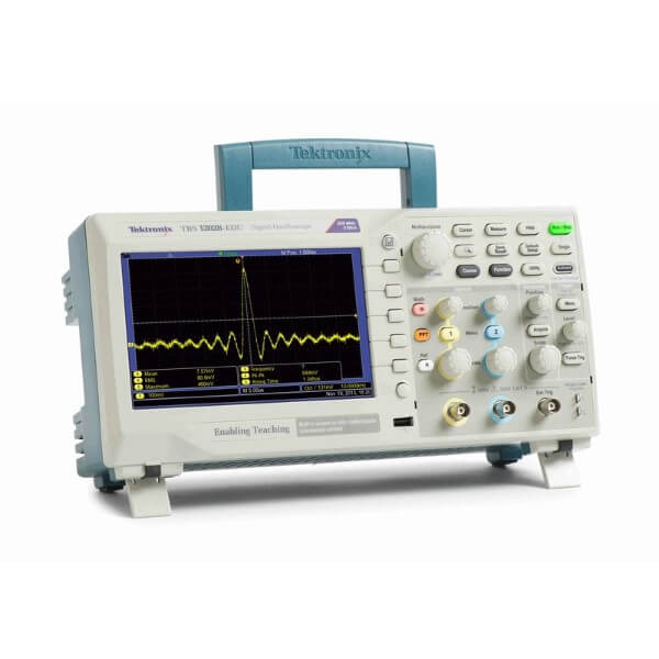 Oscilloscope Pulse Measurement : Tektronix tbs b edu mhz oscilloscope gomeasure