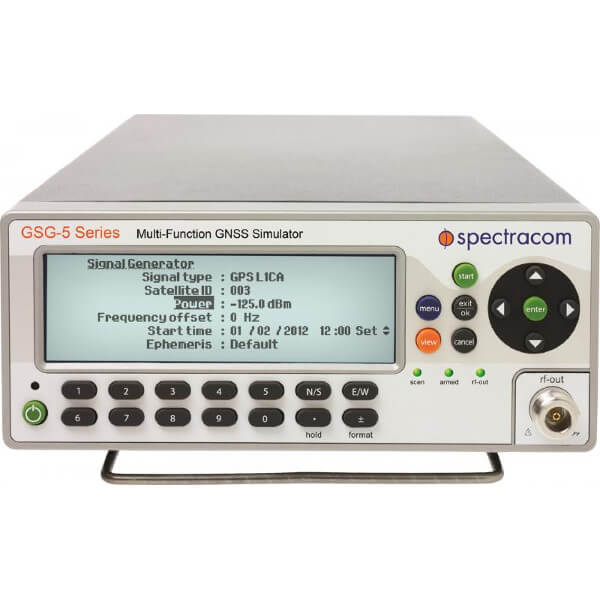 Spectracom GSG-5<br>4 Ch. GPS Simulator
