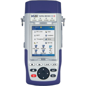 VeEX MX100e+ Handheld Ethernet Test Set