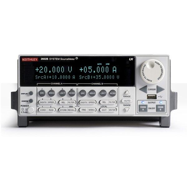 Keithley 2602B 40V, 10A, 200W SourceMeter