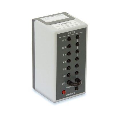 EM TEST CA ISO Resistor Box