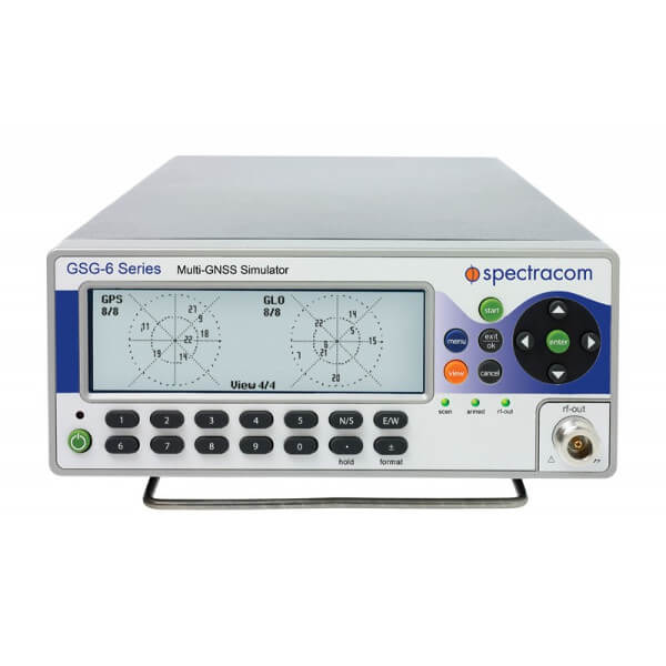 Spectracom GSG-63<br>48 Ch. GNSS Simulator