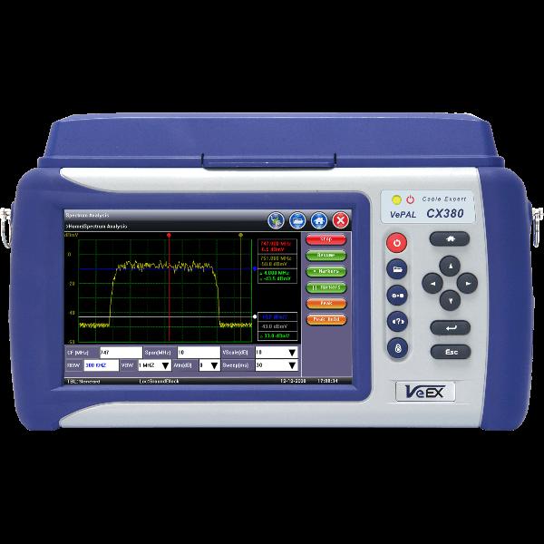 VeEX CX380s-D3.1<br>Advanced CATV System Analyzer