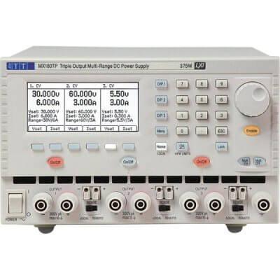 Aim-TTi MX180TP Power Supply Triple multi range 375W