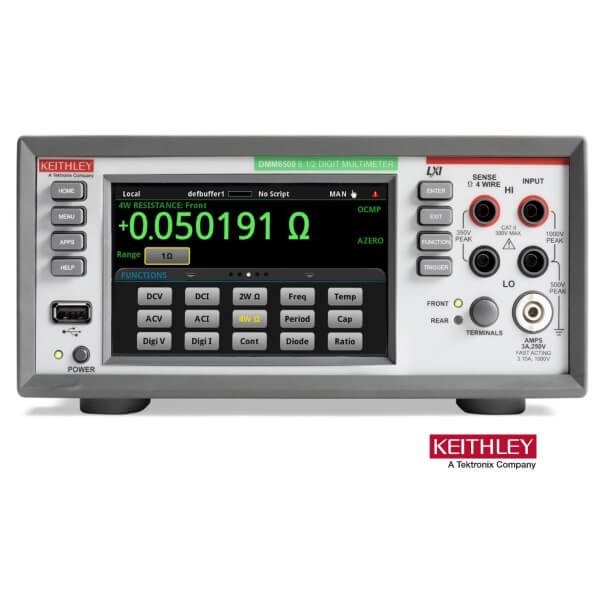 Keithley DMM6500 6½-Digit Touchscreen Multimeter